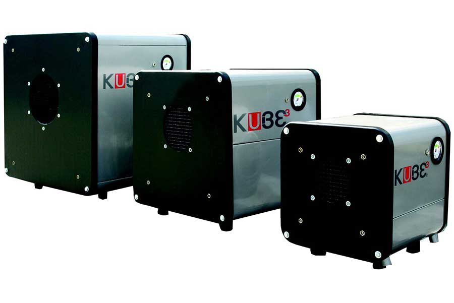 Kube air filter by Micronfilter and distributed by Prismont,a division of Montfort-International