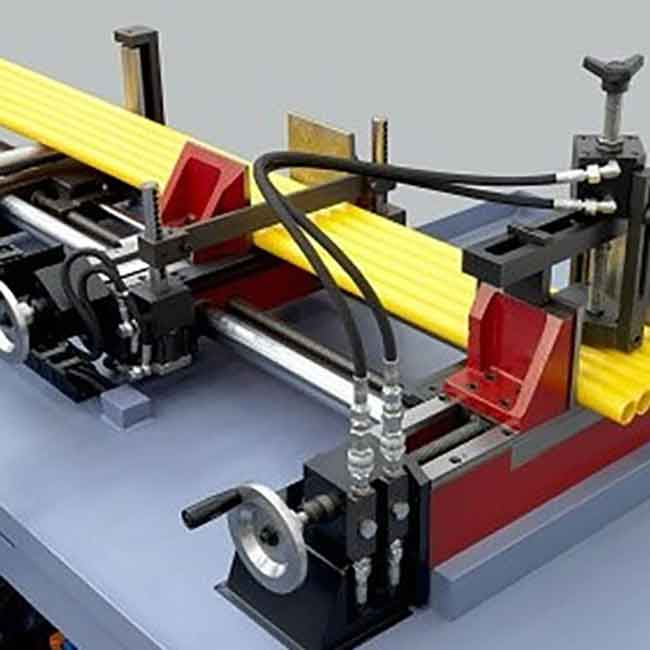 Bundle clamping device - hydraulic system